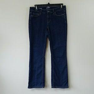 Ann Taylor LOFT Petite Boot Cut Jeans